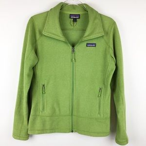 Patagonia Green Full Zip Jacket | Size Medium